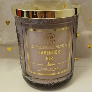 New DW HOME Lavender Fir richly scented candle